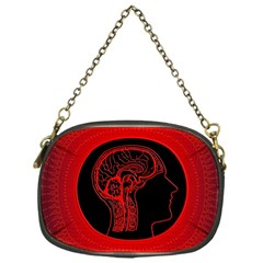 Artificial Intelligence Brain Think Chain Purse (one Side)