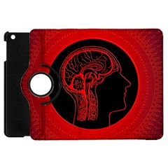 Artificial Intelligence Brain Think Apple Ipad Mini Flip 360 Case