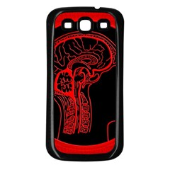 Artificial Intelligence Brain Think Samsung Galaxy S3 Back Case (black)