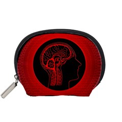 Artificial Intelligence Brain Think Accessory Pouch (small) by Samandel