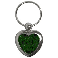 Board Conductors Circuits Key Chains (heart)