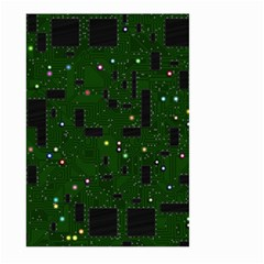 Board Conductors Circuits Large Garden Flag (two Sides) by Samandel