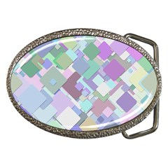 Colorful Background Multicolored Belt Buckles