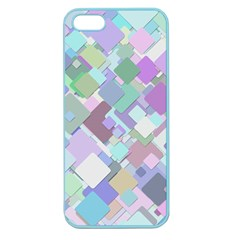 Colorful Background Multicolored Apple Seamless Iphone 5 Case (color)
