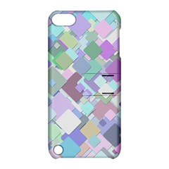Colorful Background Multicolored Apple Ipod Touch 5 Hardshell Case With Stand