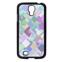 Colorful Background Multicolored Samsung Galaxy S4 I9500/ I9505 Case (black) by Samandel