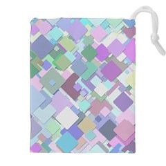 Colorful Background Multicolored Drawstring Pouch (xxl)