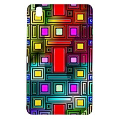 Art Rectangles Abstract Modern Art Samsung Galaxy Tab Pro 8 4 Hardshell Case by Samandel
