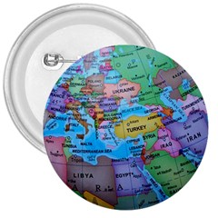 Globe World Map Maps Europe 3  Buttons by Samandel