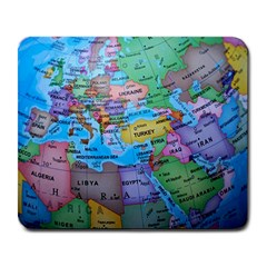 Globe World Map Maps Europe Large Mousepads by Samandel