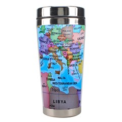Globe World Map Maps Europe Stainless Steel Travel Tumblers