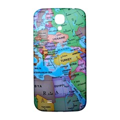 Globe World Map Maps Europe Samsung Galaxy S4 I9500/i9505  Hardshell Back Case