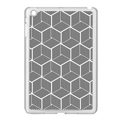 Cube Pattern Cube Seamless Repeat Apple Ipad Mini Case (white) by Samandel
