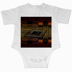 Processor Cpu Board Circuits Infant Creepers by Samandel