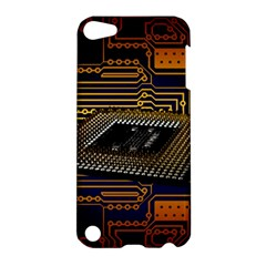 Processor Cpu Board Circuits Apple Ipod Touch 5 Hardshell Case by Samandel