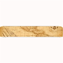 Map Discovery America Ship Train Small Bar Mats by Samandel