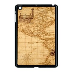 Map Discovery America Ship Train Apple Ipad Mini Case (black)