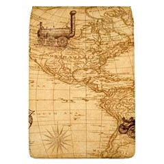 Map Discovery America Ship Train Removable Flap Cover (l) by Samandel
