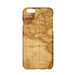 Map Discovery America Ship Train Apple Iphone 6/6s Hardshell Case
