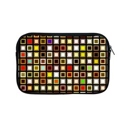Squares Colorful Texture Modern Art Apple Macbook Pro 13  Zipper Case