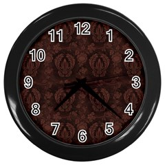 Leather 1568432 1920 Wall Clock (black) by vintage2030