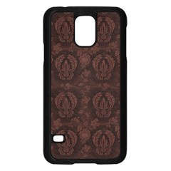 Leather 1568432 1920 Samsung Galaxy S5 Case (black) by vintage2030