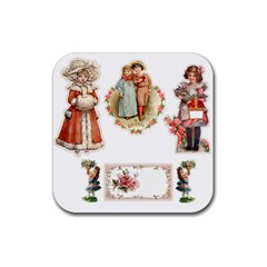 Children 1436665 1920 Rubber Coaster (square)  by vintage2030