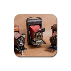 Camera 1149767 1920 Rubber Coaster (square)  by vintage2030