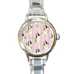 Victorian 1568436 1920 Round Italian Charm Watch by vintage2030