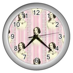 Victorian 1568436 1920 Wall Clock (silver) by vintage2030