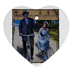 Bicycle 1763283 1280 Ornament (heart) by vintage2030
