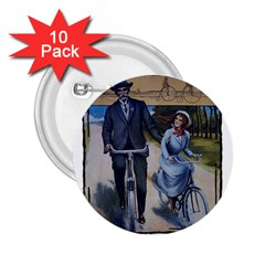 Bicycle 1763283 1280 2 25  Buttons (10 Pack)  by vintage2030