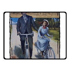 Bicycle 1763283 1280 Fleece Blanket (small) by vintage2030