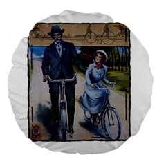 Bicycle 1763283 1280 Large 18  Premium Flano Round Cushions by vintage2030