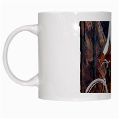 Bicycle 1763235 1280 White Mugs by vintage2030