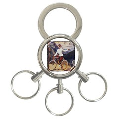 Bicycle 1763235 1280 3 Ring Key Chains by vintage2030