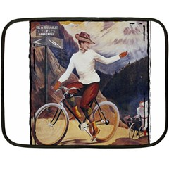 Bicycle 1763235 1280 Double Sided Fleece Blanket (mini)  by vintage2030