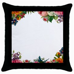 Flower 1770191 1920 Throw Pillow Case (black) by vintage2030