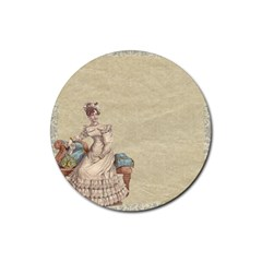 Background 1775324 1920 Rubber Round Coaster (4 Pack)  by vintage2030