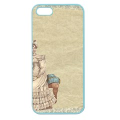 Background 1775324 1920 Apple Seamless Iphone 5 Case (color)