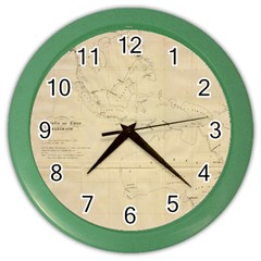 Background 1775382 1920 Color Wall Clock by vintage2030