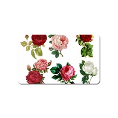 Roses 1770165 1920 Magnet (name Card) by vintage2030