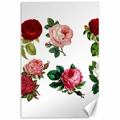 Roses 1770165 1920 Canvas 24  X 36  by vintage2030