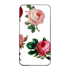 Roses 1770165 1920 Apple Iphone 4/4s Seamless Case (black) by vintage2030