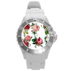 Roses 1770165 1920 Round Plastic Sport Watch (l) by vintage2030