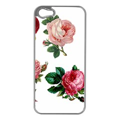 Roses 1770165 1920 Apple Iphone 5 Case (silver) by vintage2030