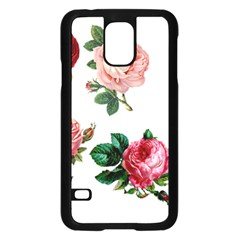 Roses 1770165 1920 Samsung Galaxy S5 Case (black) by vintage2030