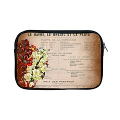 Letter Floral Apple Ipad Mini Zipper Cases