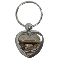 Typewriter Key Chains (heart)  by vintage2030