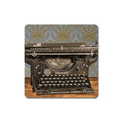 Typewriter Square Magnet by vintage2030